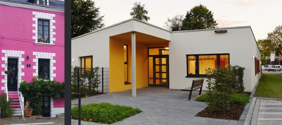 Couleur de façade pour maison